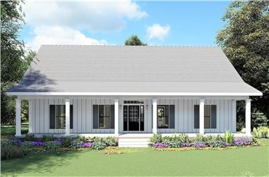 4-Bedroom, 2096 Sq Ft Ranch House - Plan #123-1120 - Front Exterior