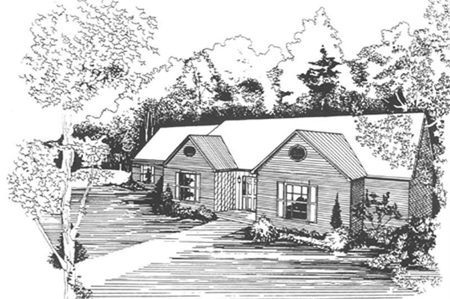 Main image for house plan # 7473