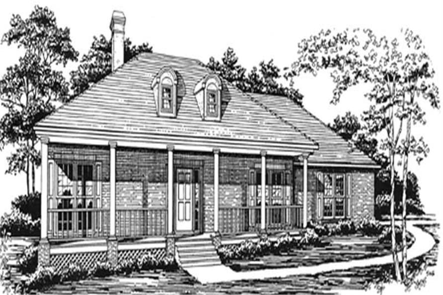 Main image for house plan # 7479