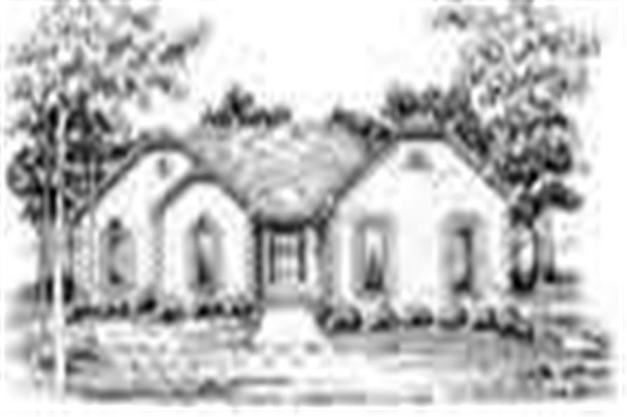 Main image for house plan # 7450