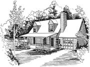 View house Plan#124-1017