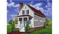 Main image for house plan # 7566