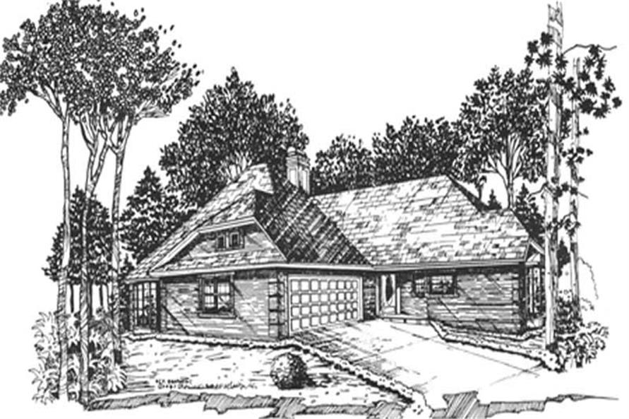 Main image for house plan # 7465