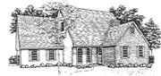 View house Plan#124-1034