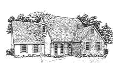 Main image for house plan # 7491