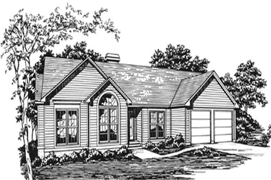Main image for house plan # 7456