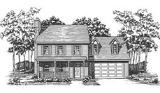 Main image for house plan # 7521