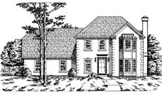 Main image for house plan # 7529
