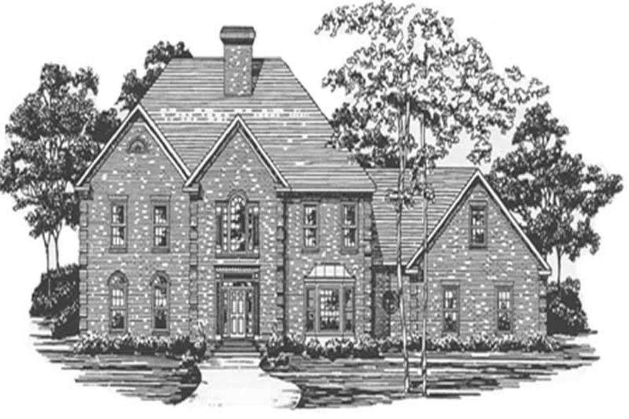 Main image for house plan # 7556