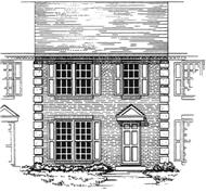 Main image for house plan # 7507