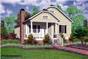 View house Plan#124-1054