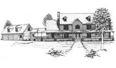 Main image for house plan # 7562