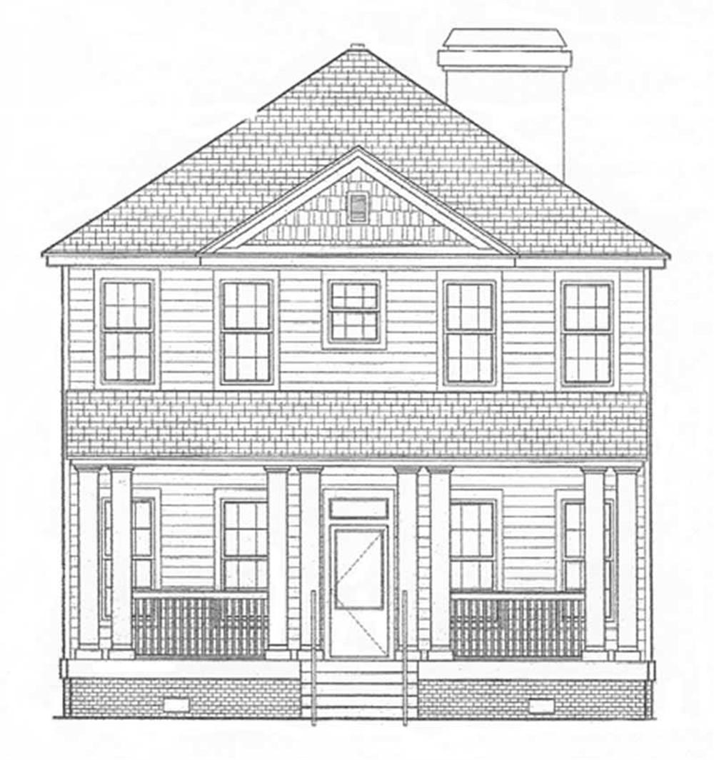 Home Plan Front Elevation