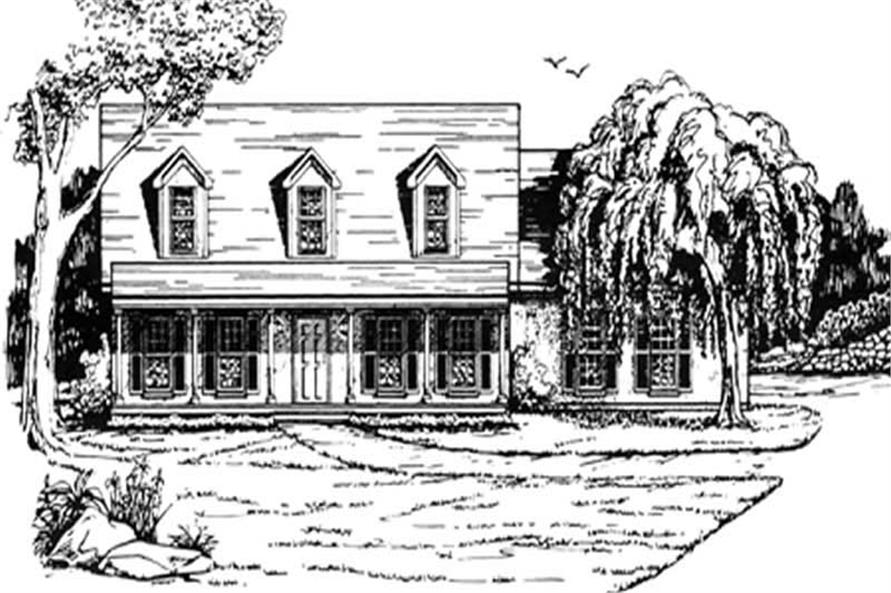 Main image for house plan # 7518