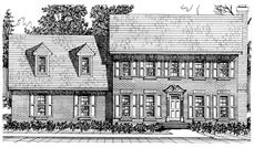Main image for house plan # 7541