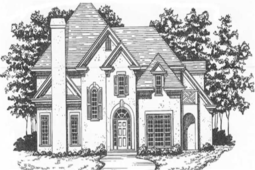 Main image for house plan # 7557