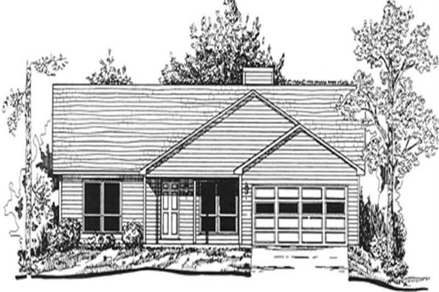 Main image for house plan # 7467