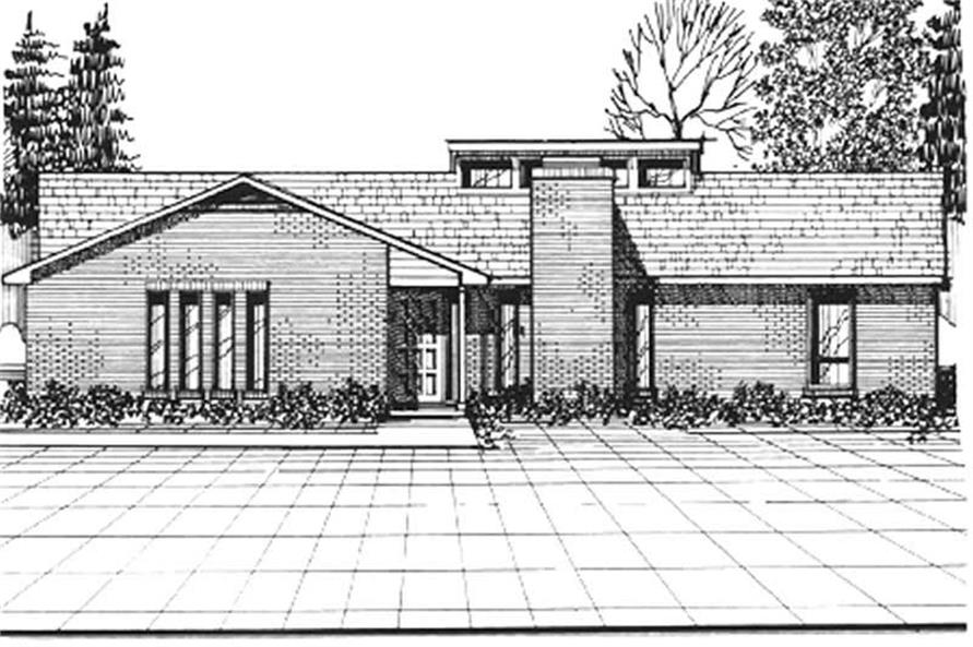 Main image for house plan # 6933