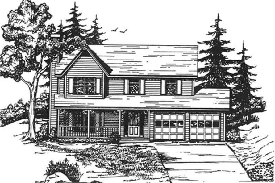 Main image for house plan # 7524