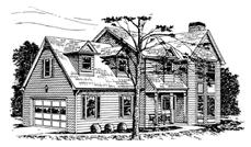 Main image for house plan # 7525
