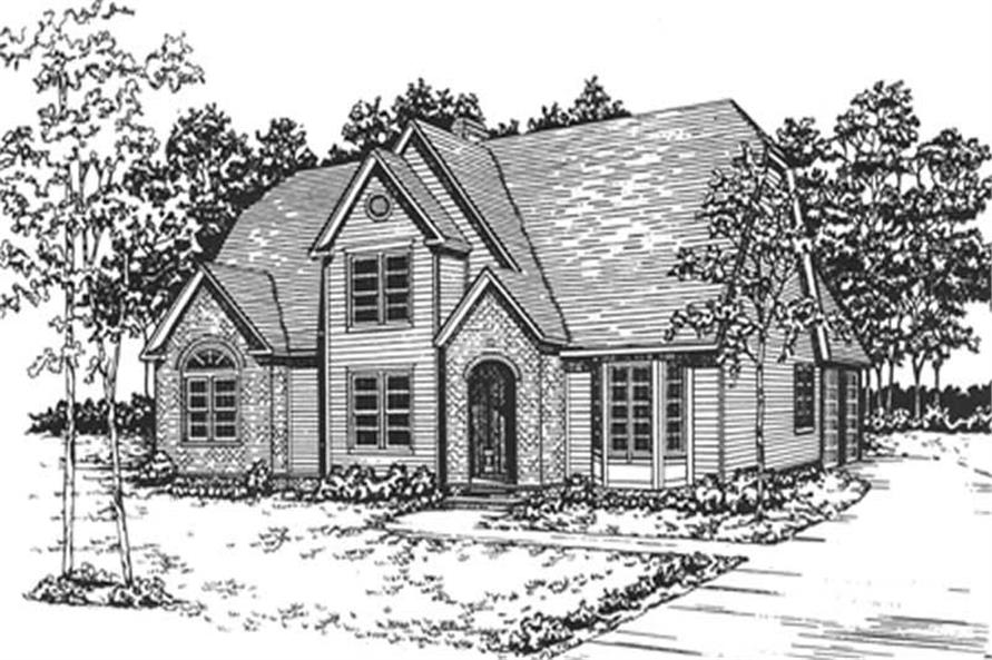 Main image for house plan # 7536