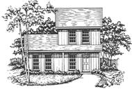 Main image for house plan # 7500