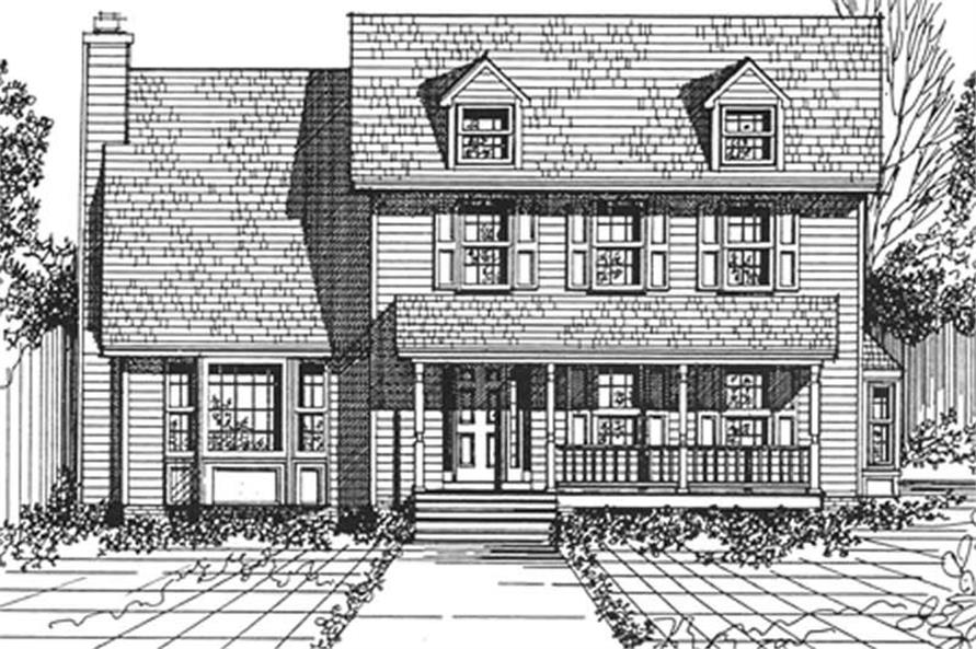 Main image for house plan # 7542