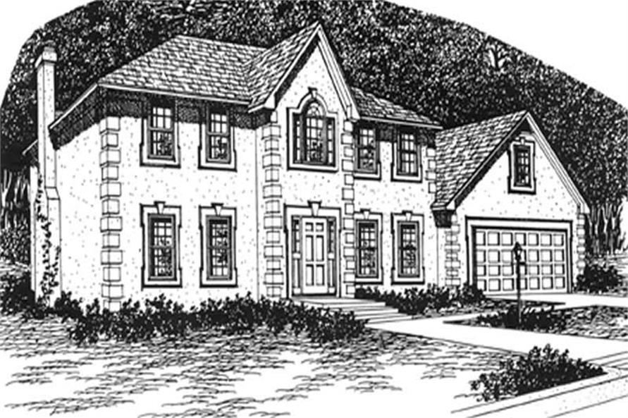Main image for house plan # 7545