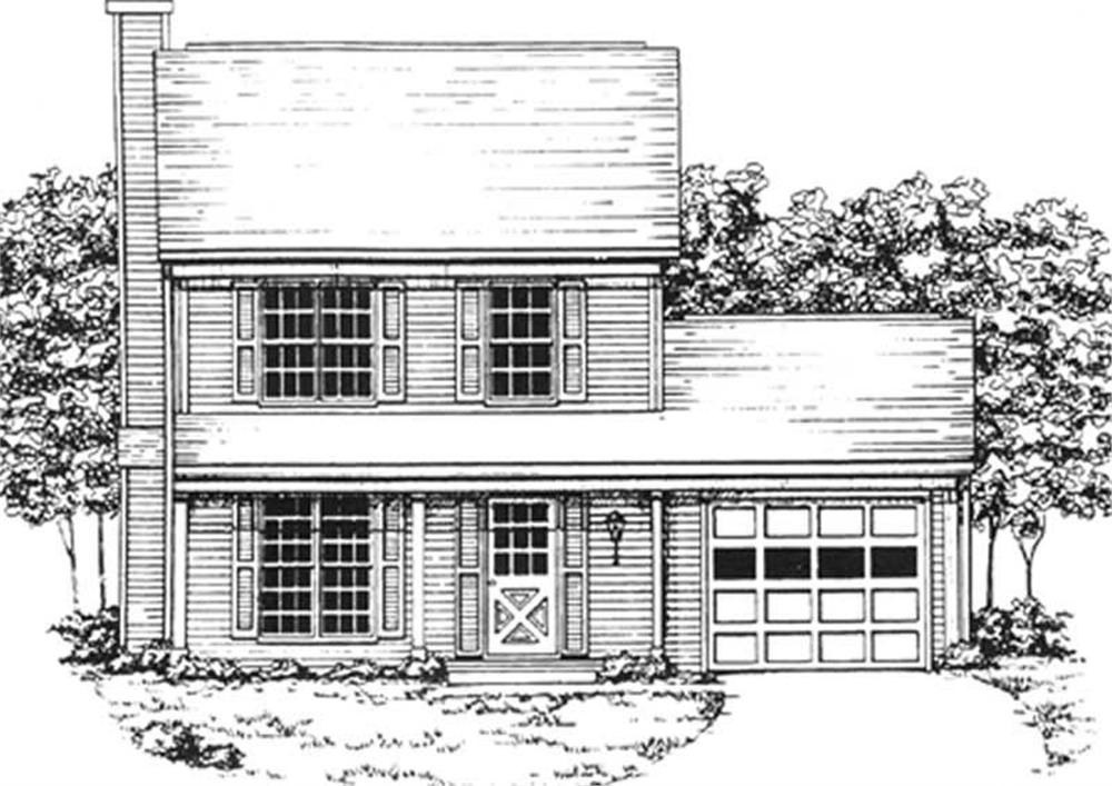 Main image for house plan # 7503