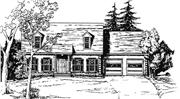 View house Plan#124-1155