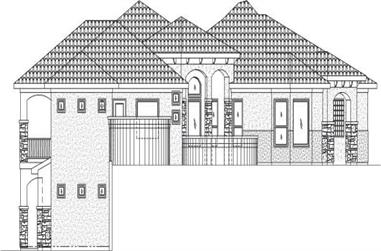 Main image for house plan # 19345