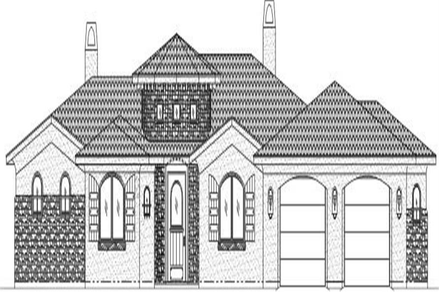 Main image for house plan # 19364