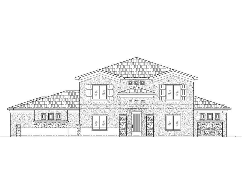 Main image for house plan # 19373