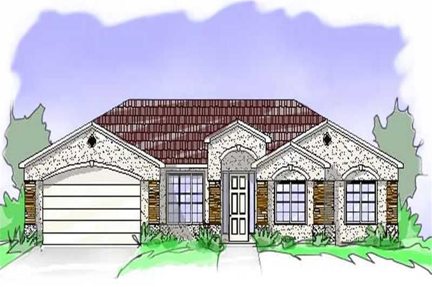 Main image for house plan # 19314
