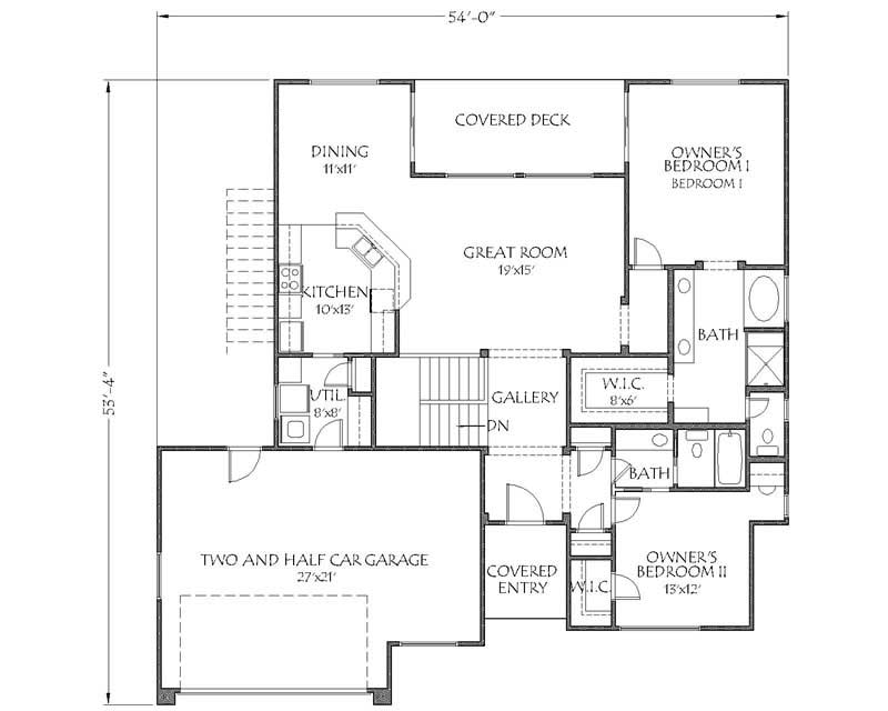 Southwest Contemporary House Plans Home Design Dr