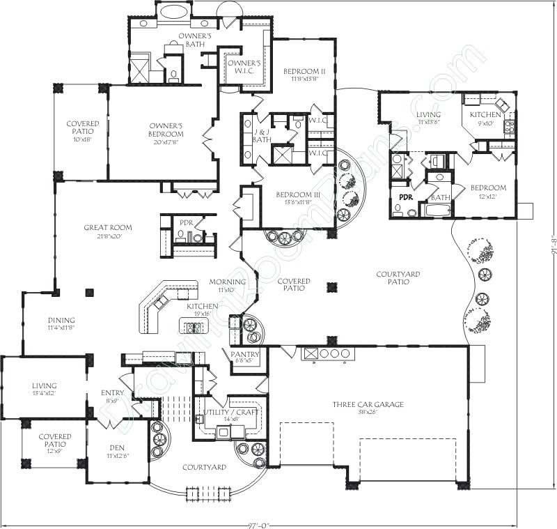Mediterranean Contemporary House Plans Home Design Dr