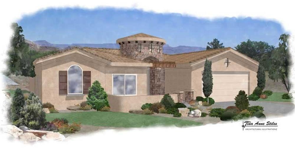 Main image for house plan # 19233