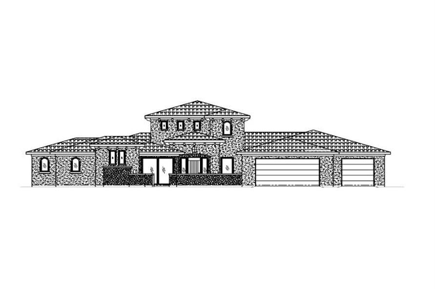 Main image for house plan # 19380