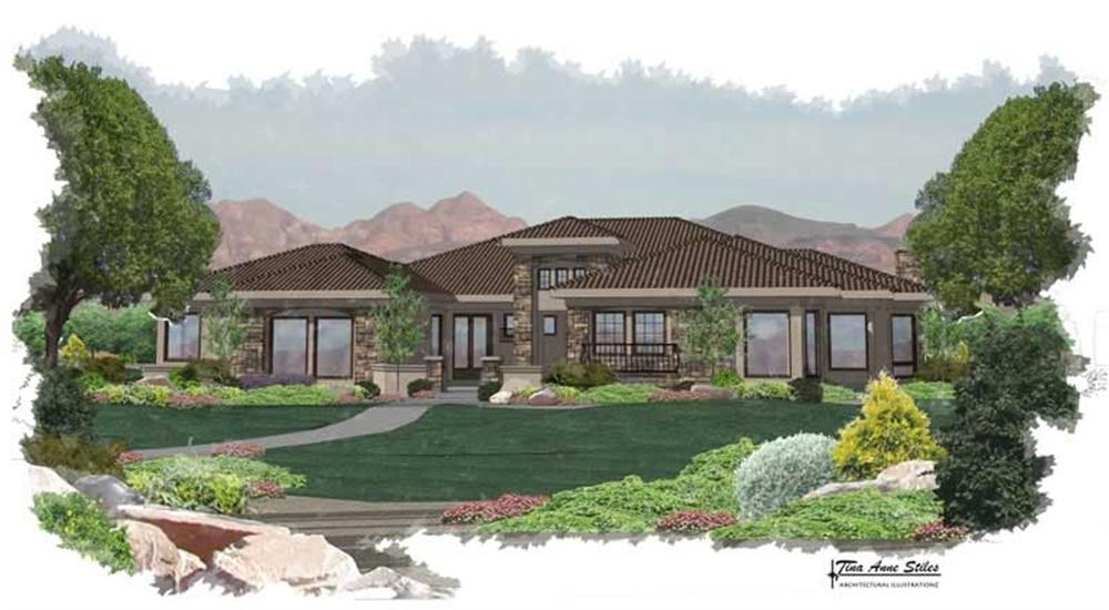 Main image for house plan # 19367
