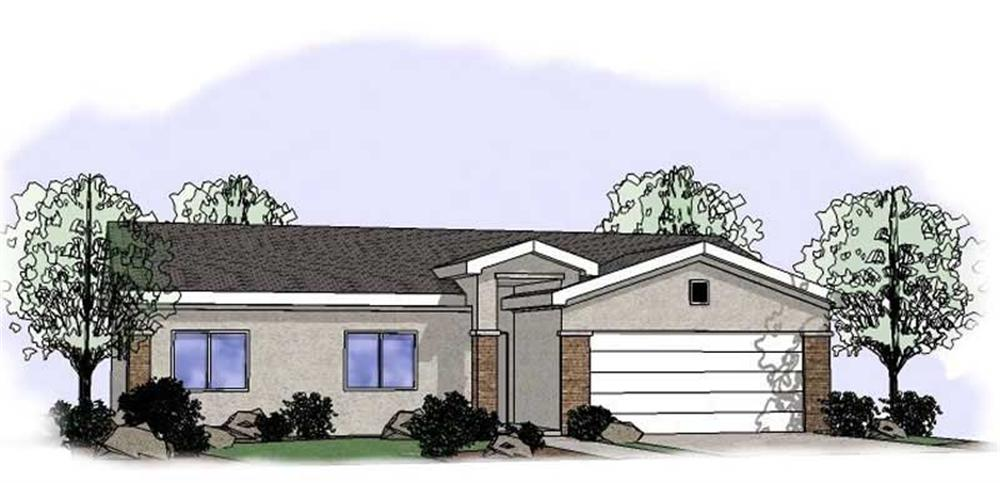Main image for house plan # 19360