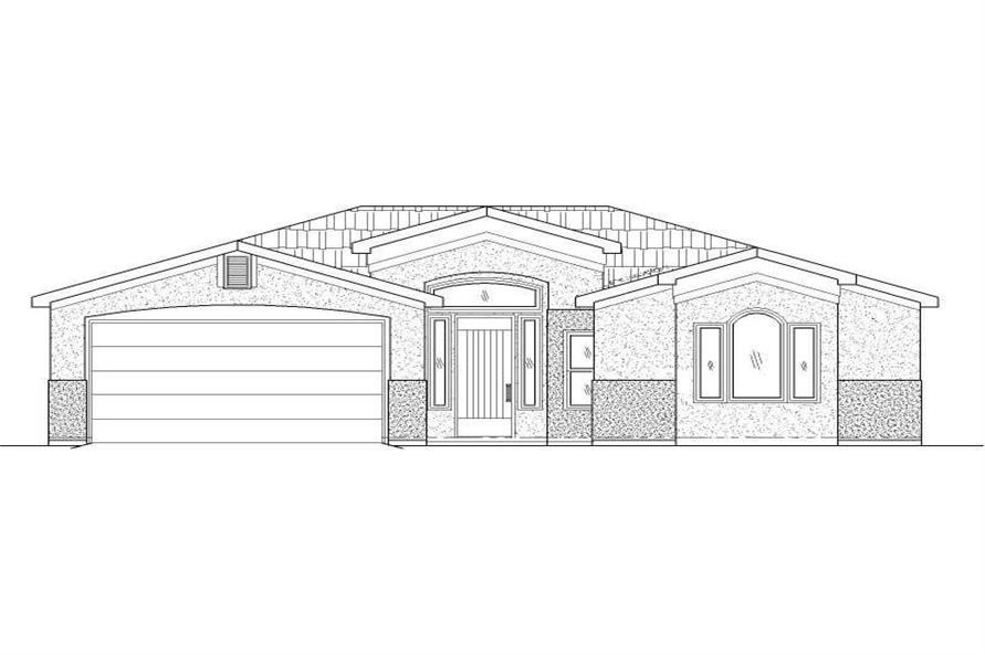 Main image for house plan # 19768