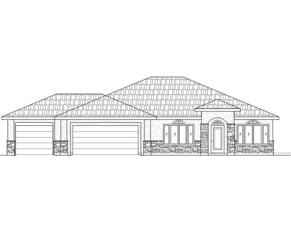 Main image for house plan # 19752