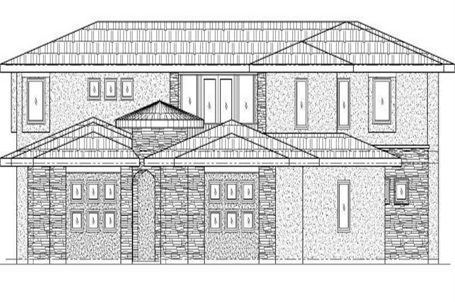 Main image for house plan # 19756