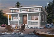 View house Plan#126-1000