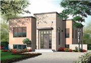View house Plan#126-1001