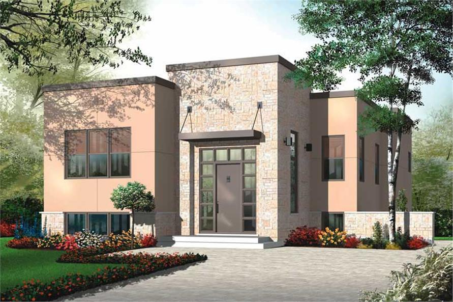 Main image for house plan # 20000