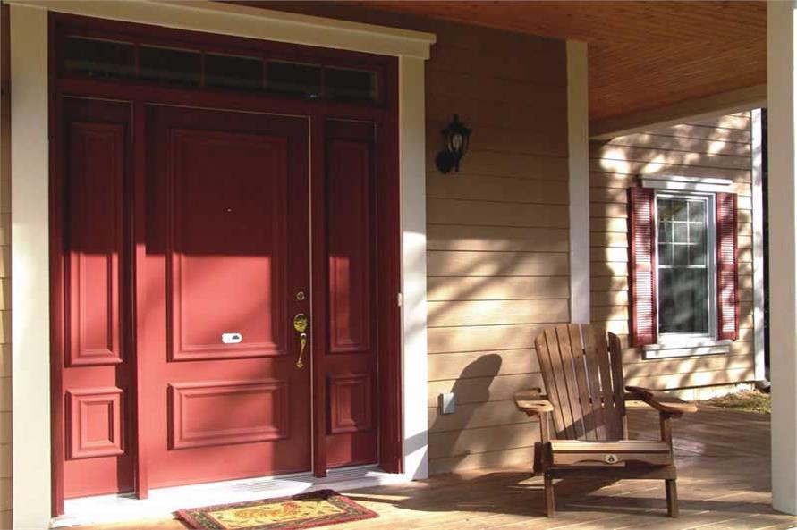 126-1020: Home Exterior Photograph-Porch