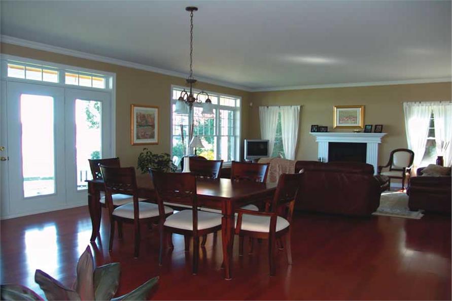 126-1020: Home Interior Photograph-Family Room
