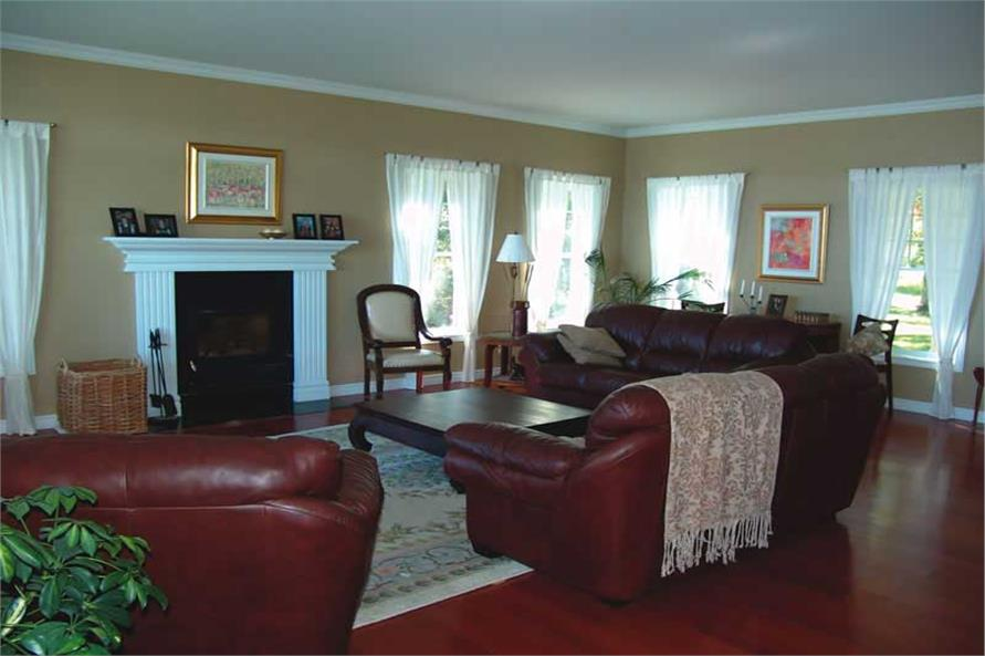 126-1020: Home Interior Photograph-Living Room