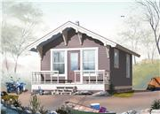 View house Plan#126-1021